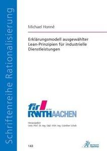Erklärungsmodell ausgewählter Lean-Prinzipien für industrielle D