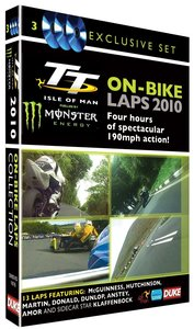 2010 On-Bike Laps 3DVD Box