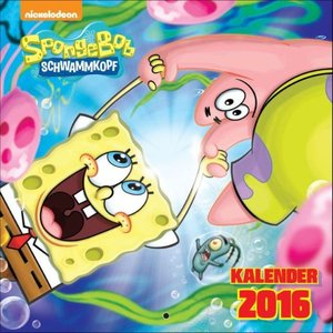 SpongeBob Schwammkopf Wandkalender 2016