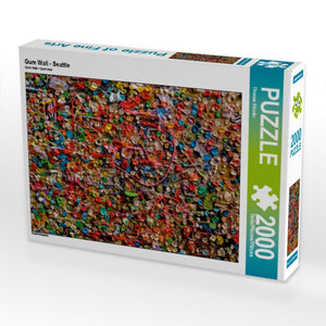 Gum Wall - Seattle 2000 Teile Puzzle hoch