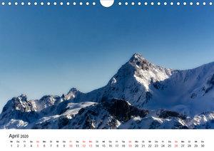 Belledone und Chartreuse, ein Blick auf die Alpen (Wandkalender