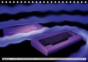 Computer der 80er (Tischkalender 2019 DIN A5 quer)