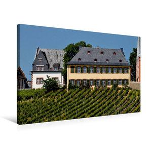 Premium Textil-Leinwand 75 cm x 50 cm quer Weingut Lauer