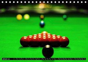 Billard. Konzentration - Sport - Spannung (Tischkalender 2020 DI