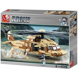 Sluban ARMY M38-B0509 - Mehrzweckhubschrauber, 439 Teile