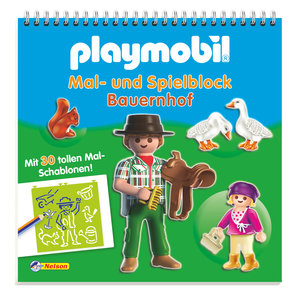 Playmobil Mal- und Spielblock Bauernhof