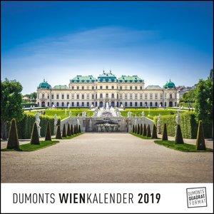 Wien Vienna 2019 - Wandkalender - Quadratformat