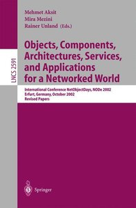 Objects, Components, Architectures, Services, and Applications f