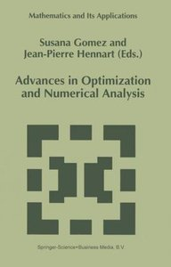 Advances in Optimization and Numerical Analysis