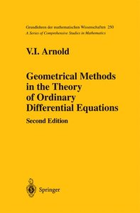 Geometrical Methods in the Theory of Ordinary Differential Equat