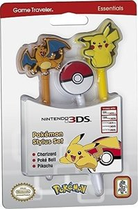 STYLUS SET Pokemon, 3er Pack, für Nintendo 3DS/new3DS XL