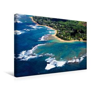 Premium Textil-Leinwand 45 cm x 30 cm quer Urlaubsgrüße aus dem