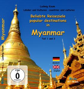 Beliebte Reiseziele in Myanmar, Teil 1 und 2