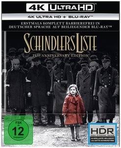 Schindlers Liste - 25th Anniversary Edition 4K, 2 UHD-Blu-ray