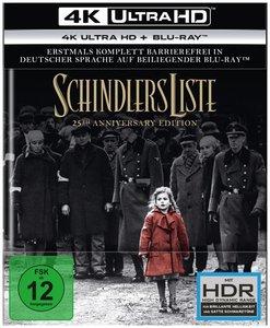 Schindlers Liste - 25th Anniversary Edition 4K, 2 UHD-Blu-ray