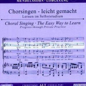 Lobgesang (Symphonie Nr.2 ) op.52, Chorstimme Alt, 1 Audio-CD