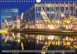 Düsseldorf - Architektur (Wandkalender 2019 DIN A4 quer)