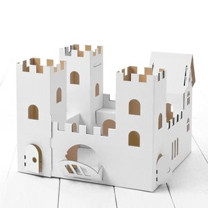 Calafant D2501X - Burg Ritterfels, Bastelset, LEVEL 3, 38x38x30,
