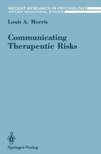 Communicating Therapeutic Risks