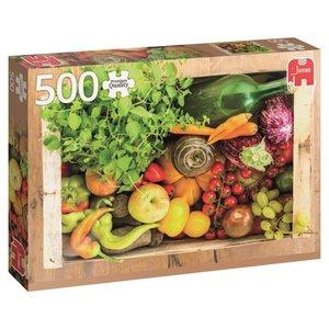 Obst- und Gemüsekiste - 500 Teile Puzzle