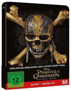 Pirates of the Caribbean: Salazars Rache (2D+d - Steelbook Editi