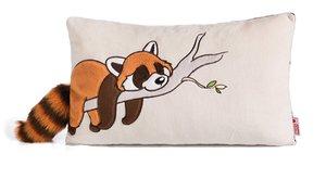Nici 42305 - Wild Friends, Plüschkissen Roter Panda Red Rod, Kis