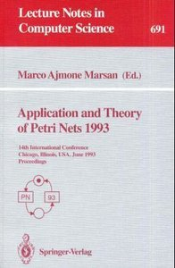 Application and Theory of Petri Nets 1993