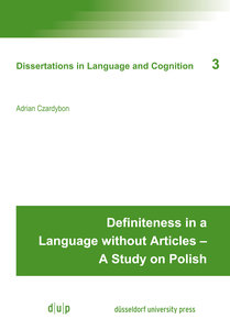Definiteness in a Language without Articles - A Study on Polish