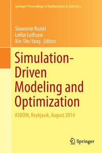 Simulation-Driven Modeling and Optimization