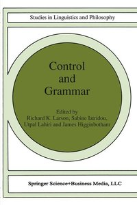 Control and Grammar