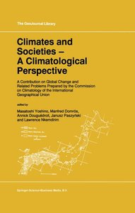 Climates and Societies - A Climatological Perspective