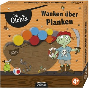 Olchi Spiel Wanken über Planken