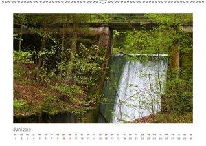 Unterwegs im Landsberger Wildpark (Wandkalender 2019 DIN A2 quer