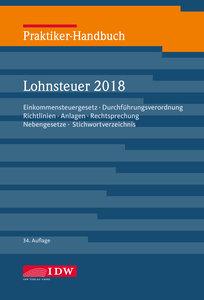 Praktiker-Handbuch Lohnsteuer 2018