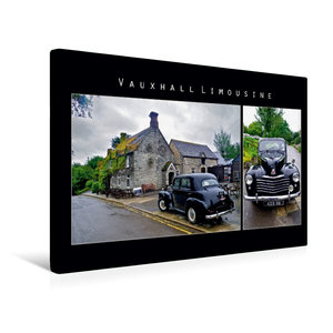 Premium Textil-Leinwand 45 cm x 30 cm quer Vauxhall Limousine, E