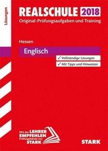 Abschlussprüfung Realschule Hessen 2018 - Englisch Lösungsheft