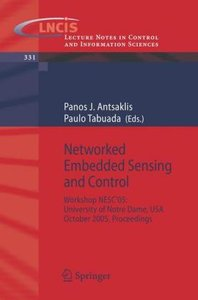 Networked Embedded Sensing and Control