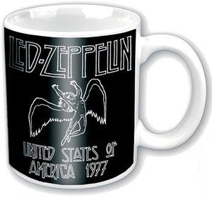 Led Zeppelin 77 USA Tour Ceramic Boxed Mug
