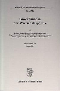 Governance in der Wirtschaftspolitik