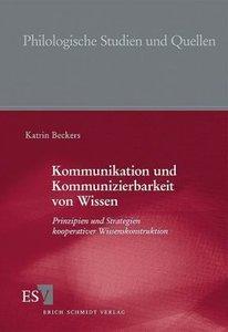 Kommunikation und Kommunizierbarkeit von Wissen