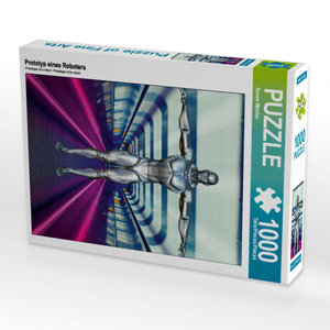 CALVENDO Puzzle Prototyp eines Roboters 1000 Teile Lege-Größe 48