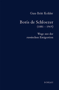 Boris de Schloezer (1881 - 1969)