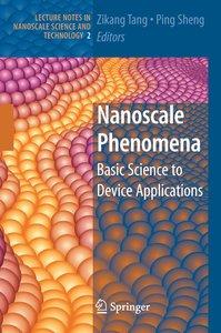 Nanoscale Phenomena