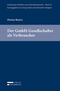 Der GmbH-Gesellschafter als Verbraucher
