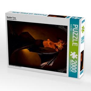 Nackter Tanz 2000 Teile Puzzle hoch