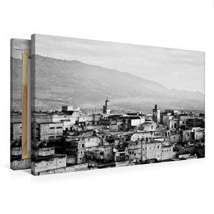 Premium Textil-Leinwand 75 cm x 50 cm quer Fès - Älteste Königss