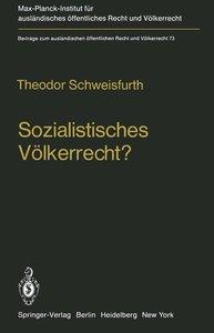 Sozialistisches Völkerrecht?