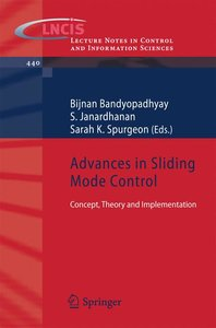 Advances in Sliding Mode Control