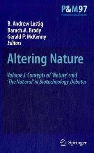 Altering Nature. 2 Bände