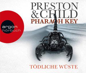 Pharaoh Key - Tödliche Wüste, 6 Audio-CDs